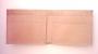 Egyedileg, kézzel festett, sok rekeszes valódi bőrtárca bőr pénztárca frakktárca