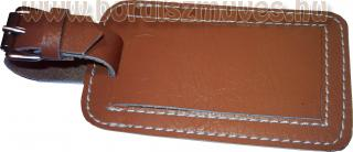 Bőrönd címke marhabőr