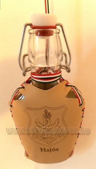 Egyedi címeres lapos üveg, Hajós város címerével