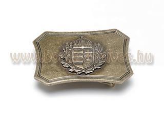 Western övcsat koronás címerrel
