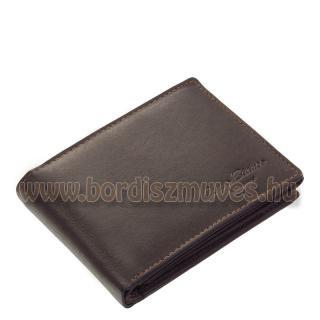 Fekete bőr férfi pénztárca