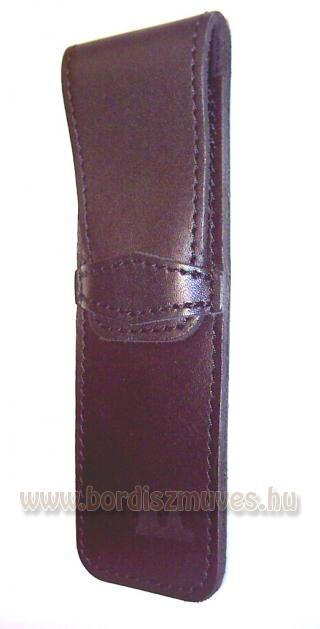 Egyedi, gravírozott marhabőr tolltartó