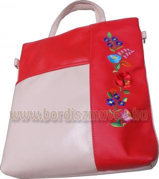 Hímzett kalocsai női kézi táska