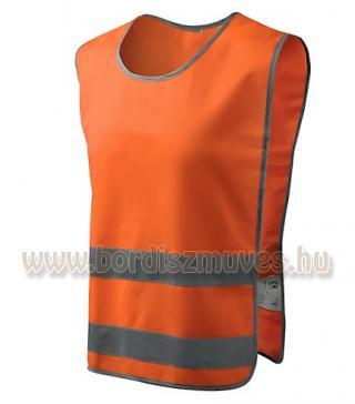 Jól láthatósági mellény, vadászoknak hajtáshoz, narancs színű