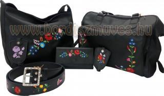 Kalocsai hímzésű bőr és textilbőr termékek