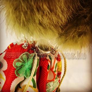 KIMONO bag, kimono táska, MITZII zárása