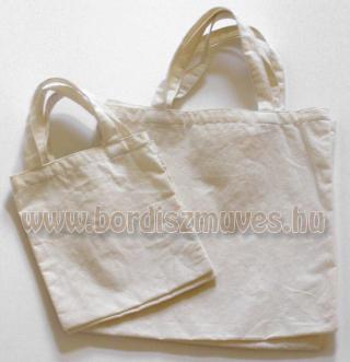 Lenvászonból, vászonból, molinóból készült táskák gyártása különféle méretben