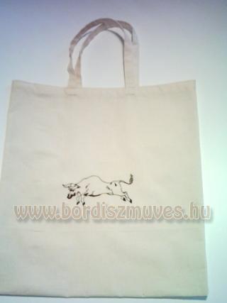 Textilből, lenvászonból, vászonból, molinóból készült táskák gyártása
