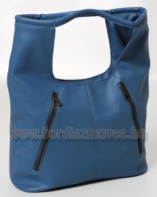 Vehrdesign®,  kék textilbőr  női divattáska