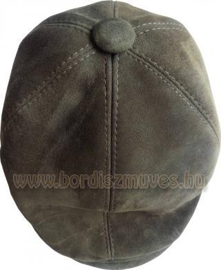 Marhabőr siltes, sildes sapka, egyedi igények szerinti bőrből, méretre varrva