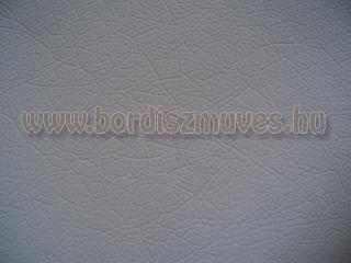 Textilbőr alapanyag szürke színben, egyszerű nyomott mintával, javítás