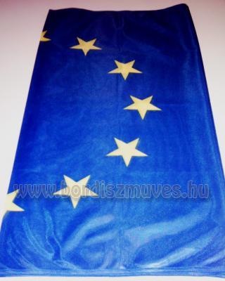 Európai uniós zászló gyártás, egyedi méretre, standard zászlóanyag