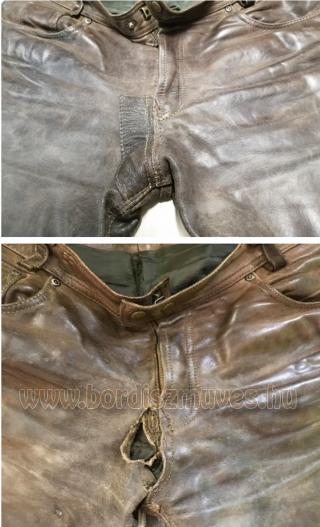 Bőrnadrág vadásznadrág nadrág ruházat javítás