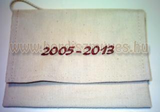 2018. évre, iskolás hímzett ballagó, ballagási tarisznya gyártása tetszőleges