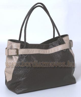 YURKOV női bőr kézitáska, barna marhabőr női  táska Yurkov Fashion,