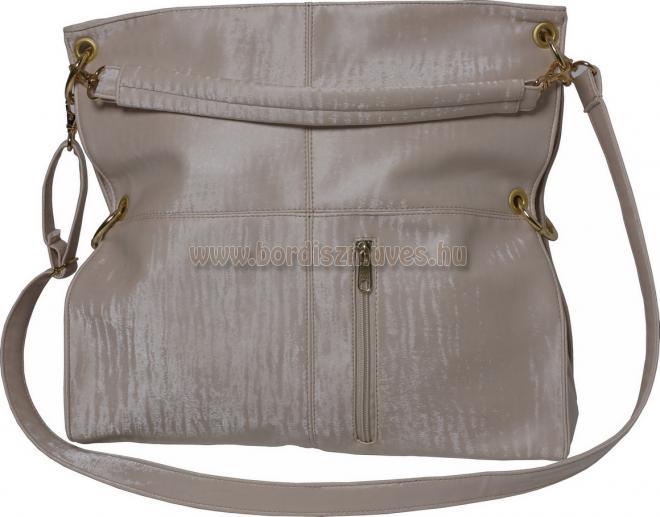 2 in 1, kettő az egyben, női bőrtáska, textilbőr táska, válltáska, Vehrdesign te