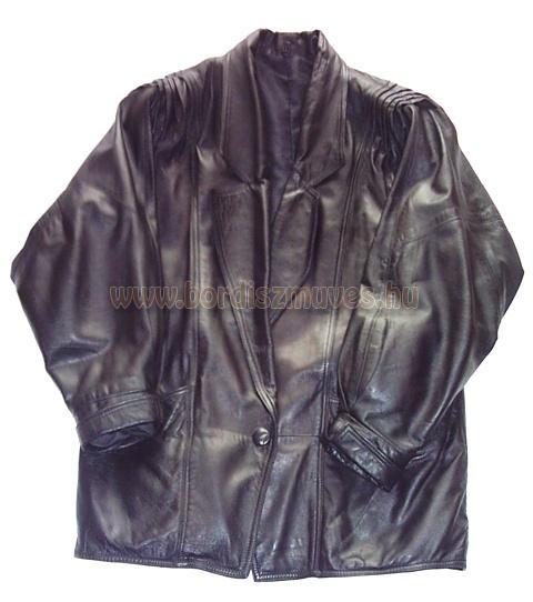 Bőrruházat, bőrkabát javítás, gomblyukazás, gomblyuk készítés, bőrkabát cipzárcs
