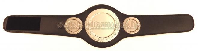 Box bajnoki öv gyártás,  készítés, bőrből, egyedi igények szerint