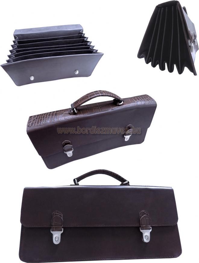 Egyedi marhabőr ügyvédi táska
