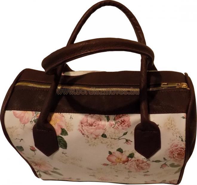 Egyedi, nyomott műbőr női kézi táska