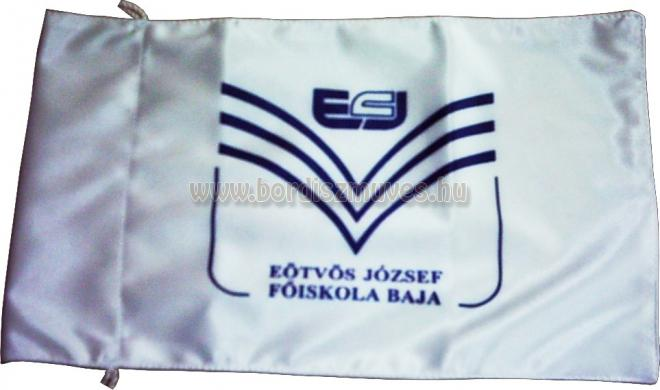 Egyedi, EJF sárkányhajó zászló, selyemszatén