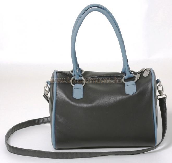Golf táska jellegű, női kézitáska, válltáska, cipzáros zárással