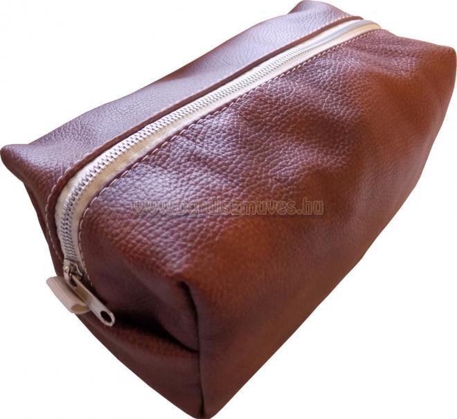Marhabőr neszeszer, kozmetikai táska