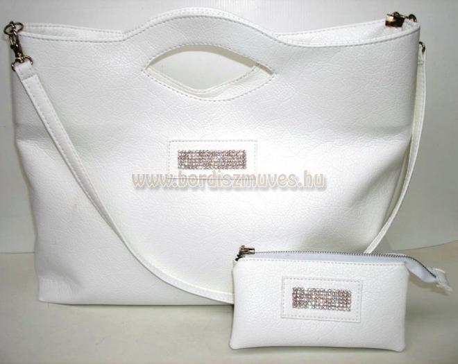 Vehrdesign®,  női textilbőr divattáska együttes, női táska és pénztárca