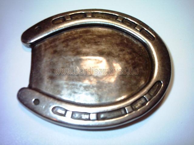 Patkó alakú western antikolt övcsat, csat, derékszíjra, nadrágszíjra, bőr övre