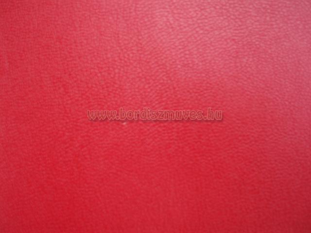 Piros színű textilbőr alapanyag, olcsóbb, egyszerű termékek készítéséhez, nyomo