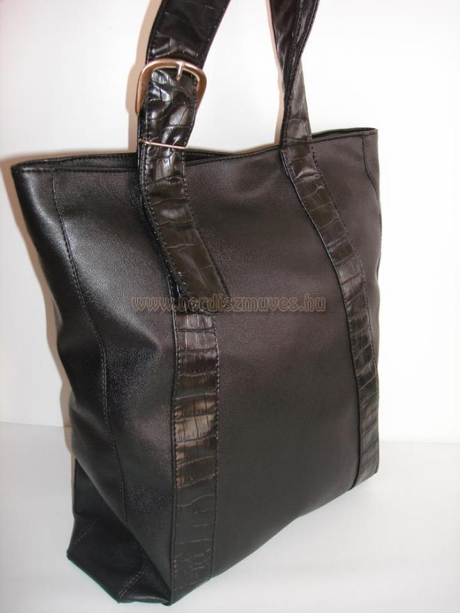Vehrdesing, 2013, női divattáska, kézi táska, válltáska, átvezetett  díszítéssel