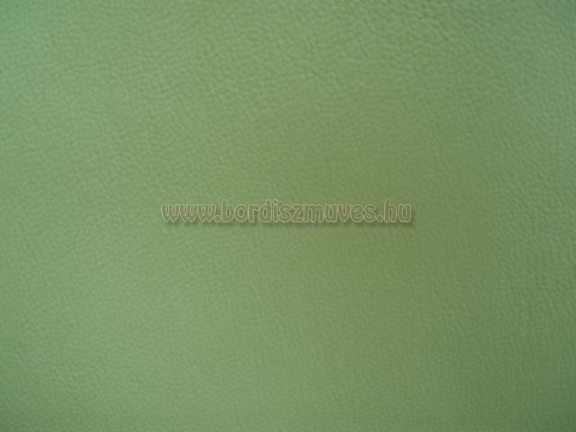 Textilbőr alapanyag zöld színben, nyomott  mintával, javítás, ruhaszerviz