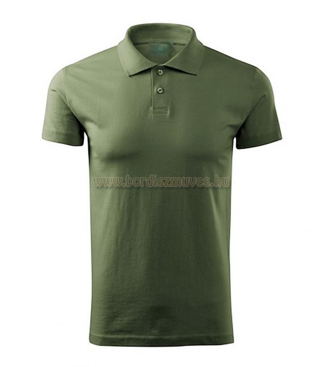 Galléros military zöld póló, vadászoknak, erdészeknek, túrázóknak
